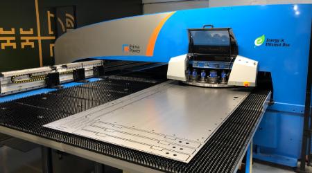 CNC steel sheet processing