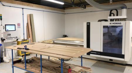 CNC wood milling